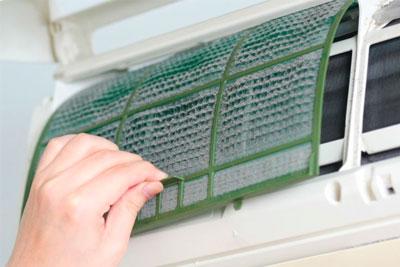 Higienização de Splits